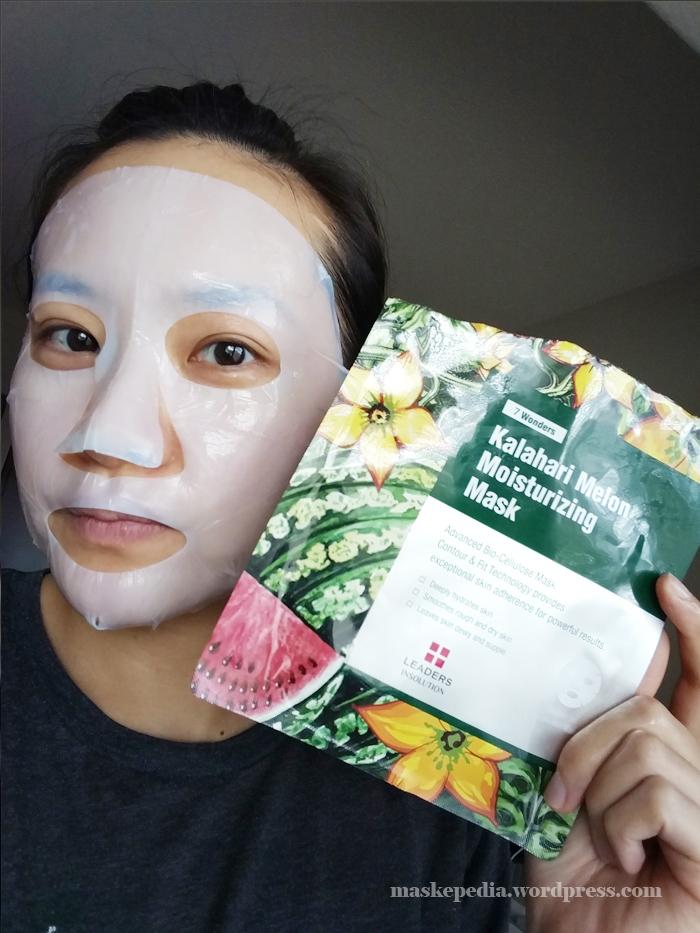 Leaders 7 Wonders Kalahari Melon Moisturizing Mask