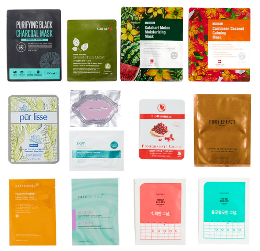Ipsy Korean Sheet Mask Set