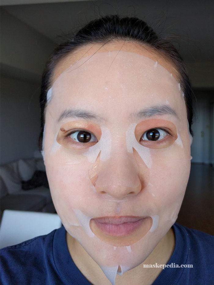 FaceQ Aloe Moisturizing & Soothing Mask