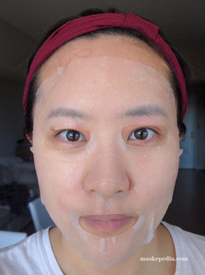 Mizon Enjoy Vital-Up Time Calming Mask