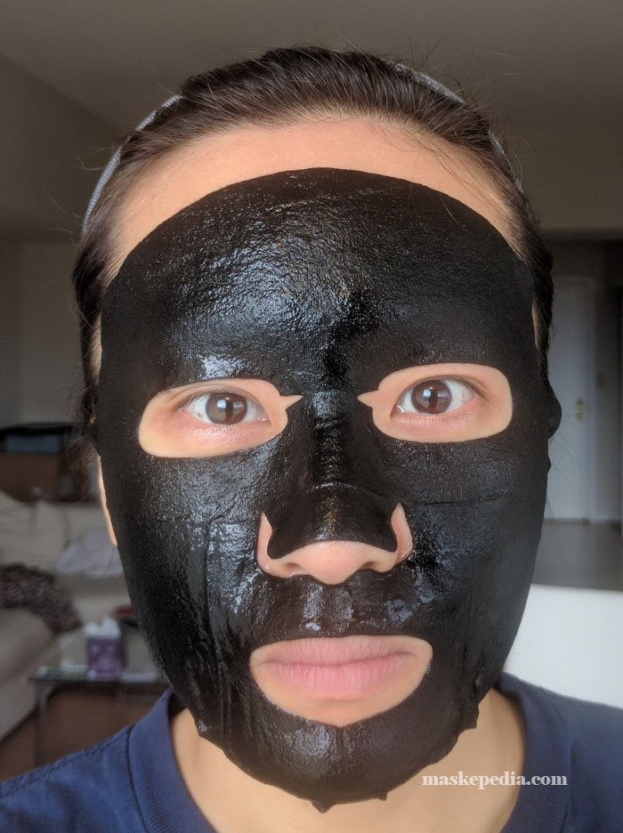 Soo Ae Purifying Black Charcoal Mask