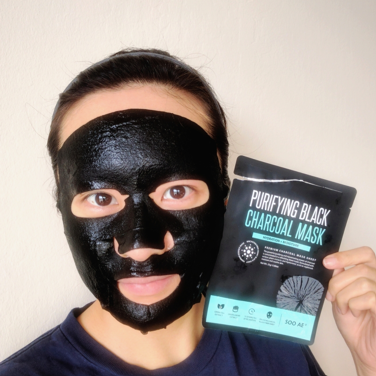 Review: Soo Ae Purifying Black Charcoal Mask ★★★★★