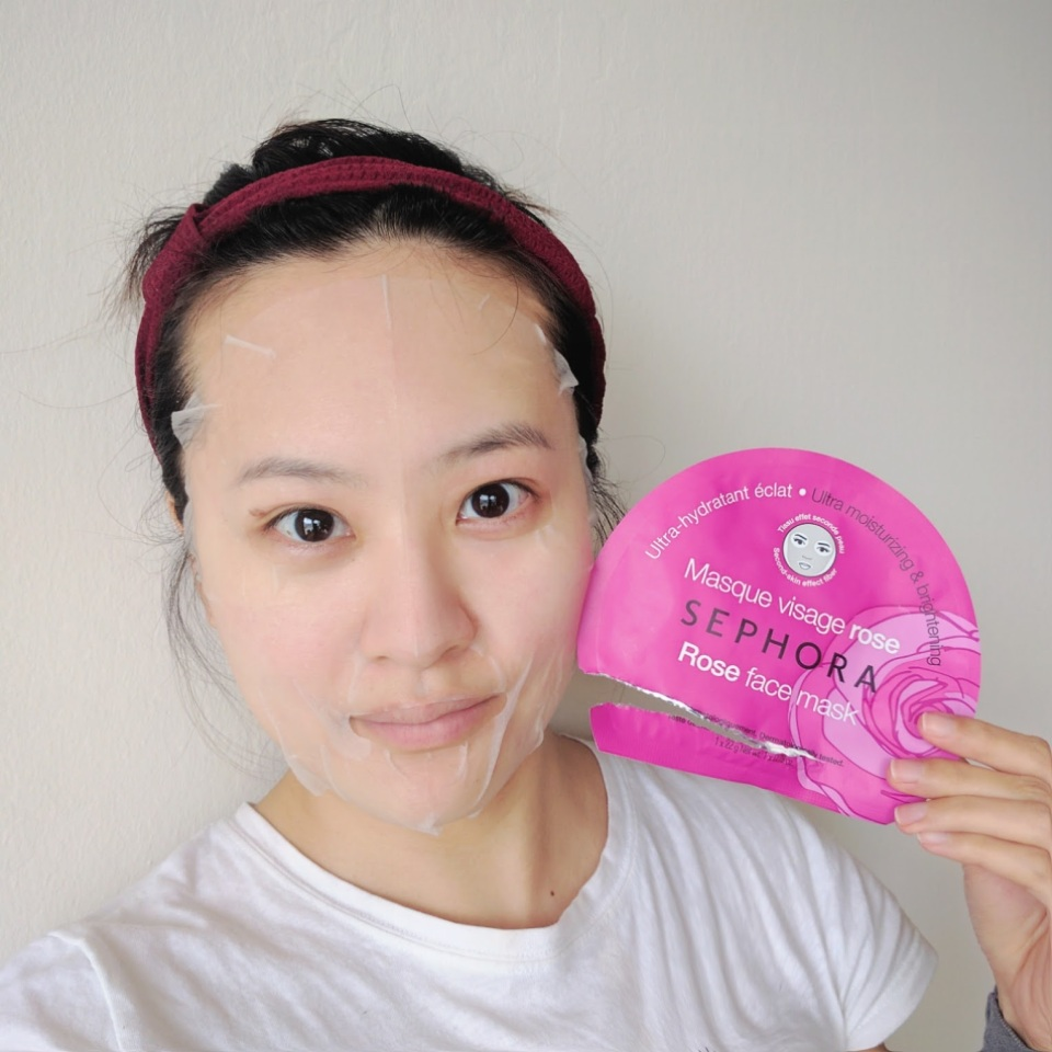 Sephora Rose Face Mask