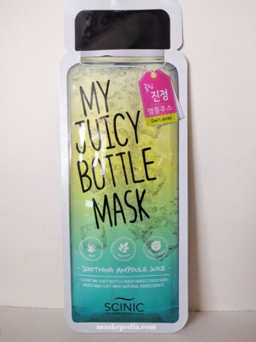 Scinic My Juicy Bottle Mask (Soothing Ampoule Juice)