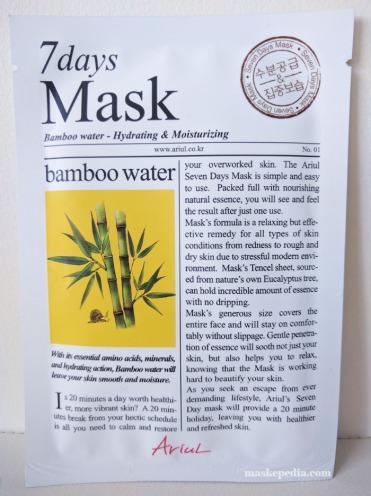 Ariul 7 Days Mask - Bamboo Water