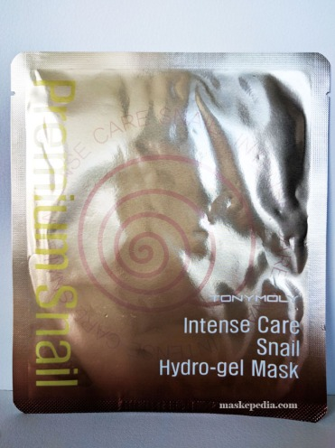 Tony Moly Intense Care Snail Hydrogel Mask