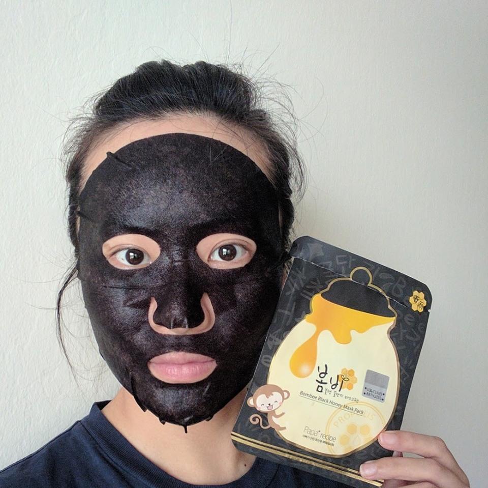Papa Recipe Bombee Black Honey Mask Sheet