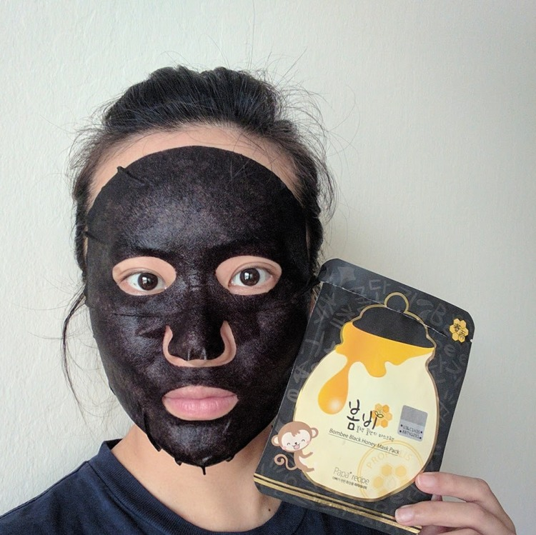 Papa Recipe Bombee Black Honey Mask Sheet