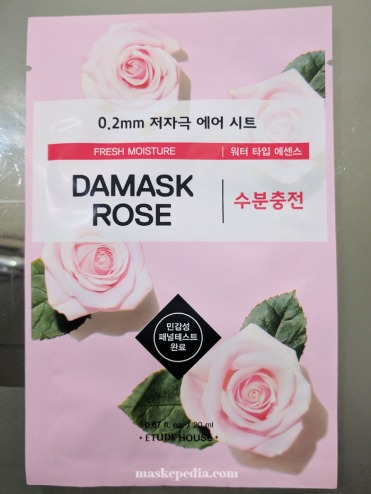 Etude House 0.2mm Air Therapy Damask Rose Sheet Mask