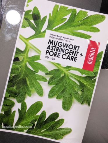 Manefit Mugwort Astringent + Pore Care Mask