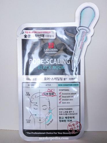 Leaders Pore-Scaling Black Aqua Mask