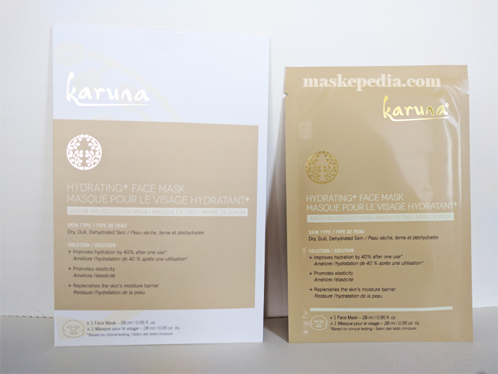 Karuna Hydrating+ Facial Mask