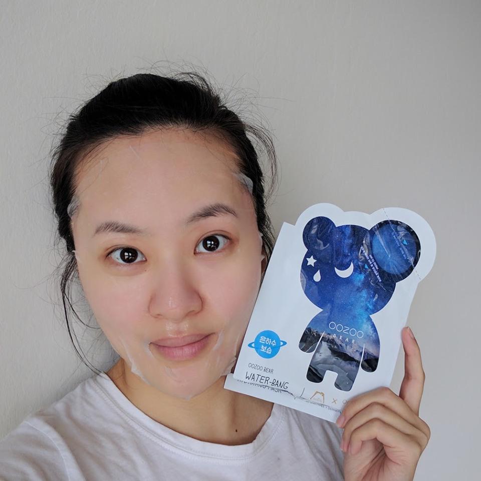 Oozoo Bear Water-Bang Hydrating Mask