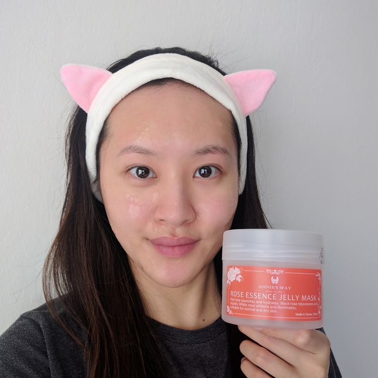 Annie's Way Rose Essence Jelly Mask