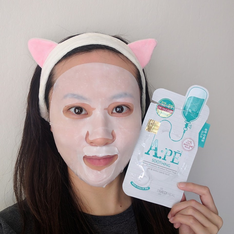 Mediheal Advance Protection Emollient Proatin Soothing Mask