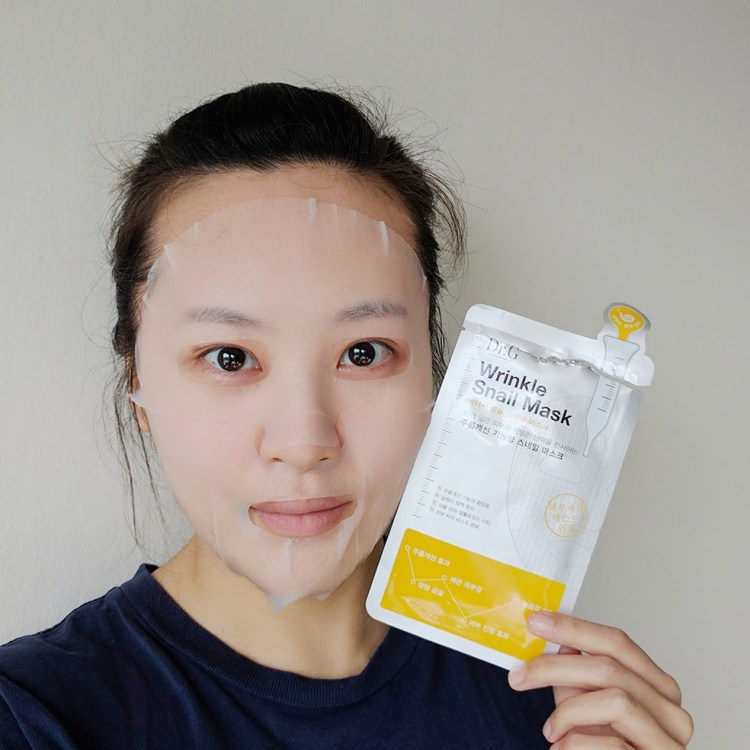 My Skin Mentor Dr. G Wrinkle Snail Sheet Mask