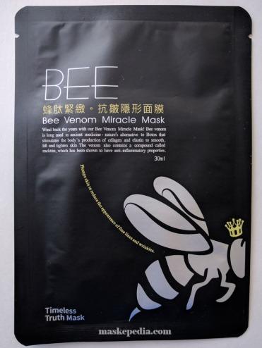 Timeless Truth Bee Venom Bio Cellulose Mask