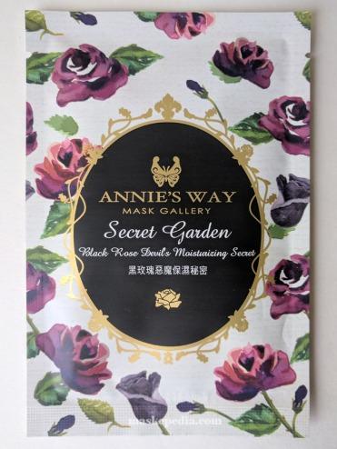 Annie's Way Secret Garden Black Rose Devil's Moisturizing Mask