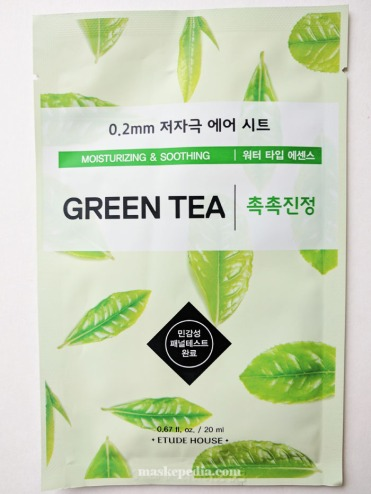Etude House 0.2mm Air Therapy Green Tea Mask