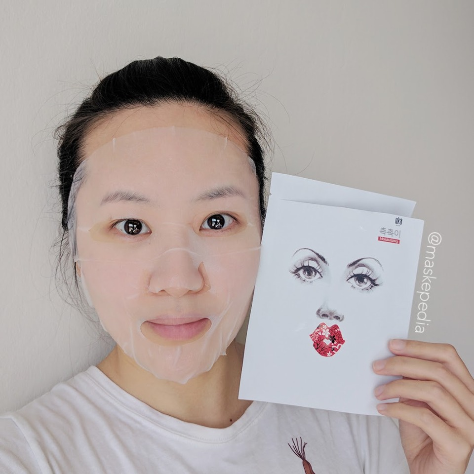 OKA Recipe Moisturizing Sheet Mask