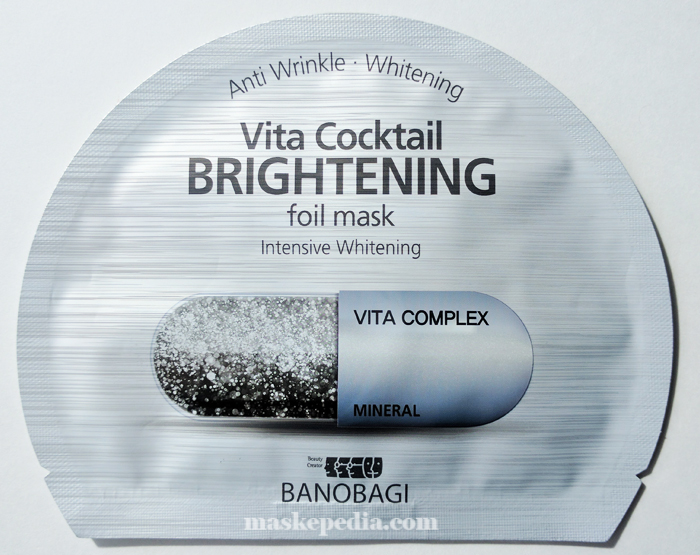 Banobagi Vita Cocktail Brightening Foil Mask