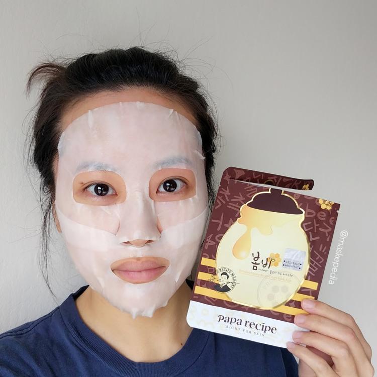 Papa Recipe Honey Butter Cream Mask Pack