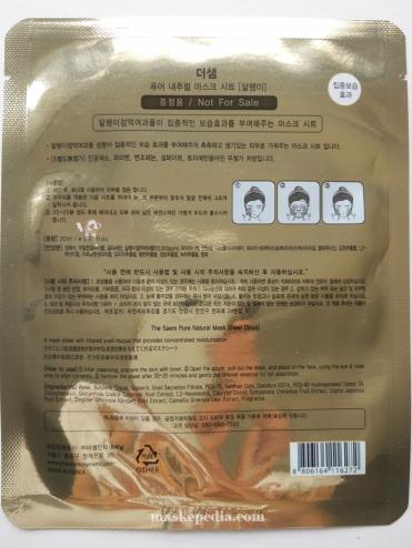 The Saem Pure Natural Snail Mask
