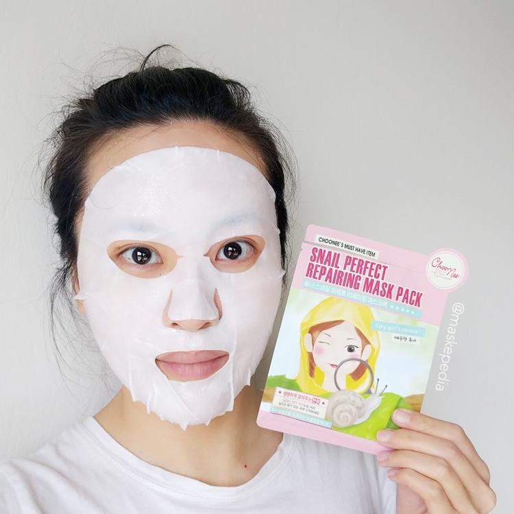 Choonee Snail Perfect Repairing Mask Pack