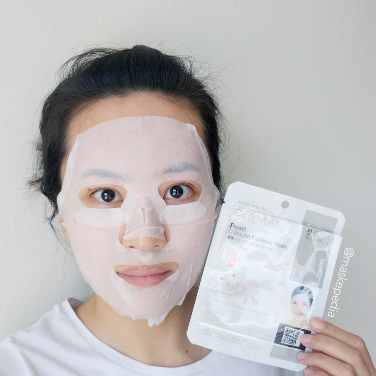 Dermal Pearl Collagen Essence Mask