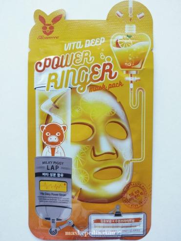 Elizavecca Power Ringer Mask Pack - Vital Deep