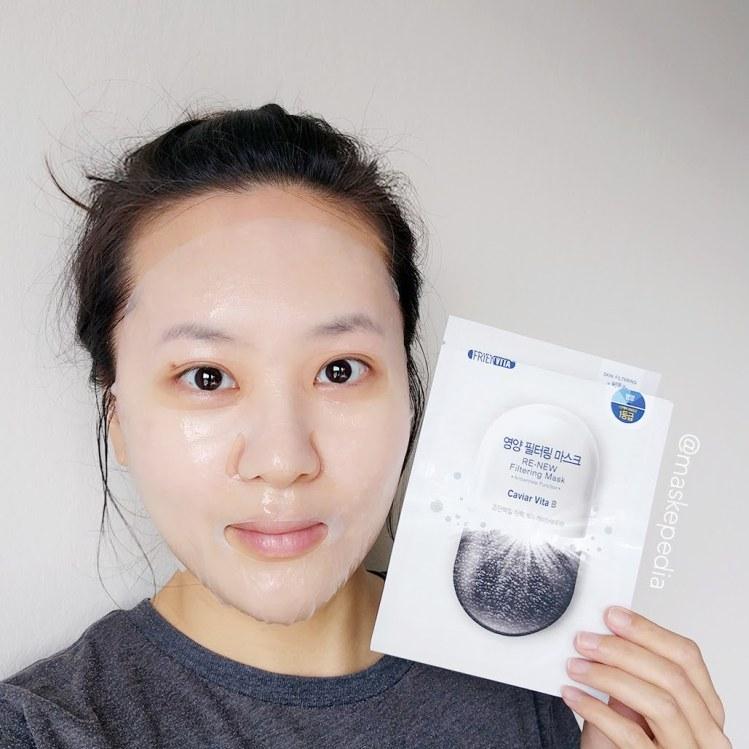 Frienvita RE-NEW Filtering Mask Caviar Vita B