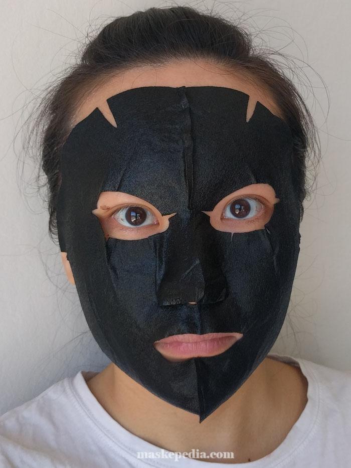 Skinfactory Volcanic Ash Black 3D Mask