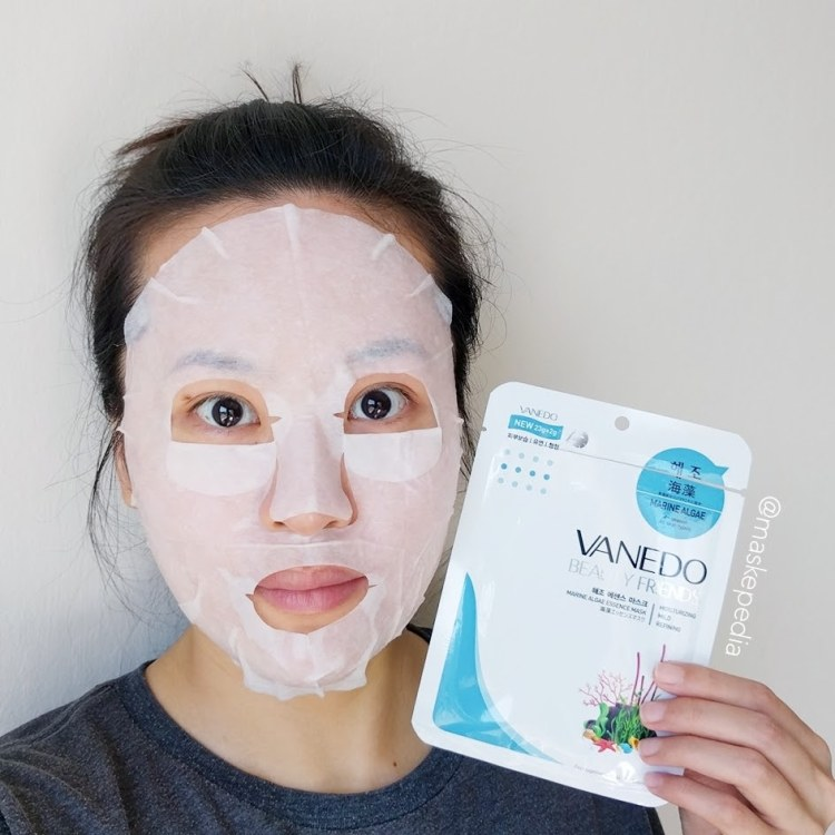 Vanedo Beauty Friends Marine Algae Essence Mask