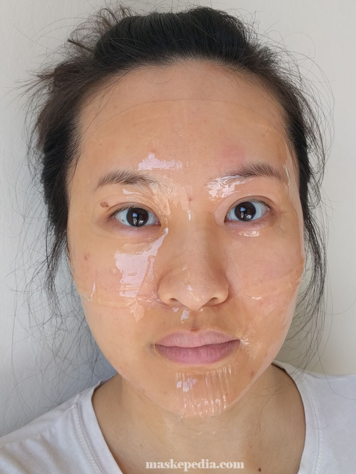 Whamisa Organic Seeds & Rice Fermented Hydrogel Facial Mask with Lactobacillus
