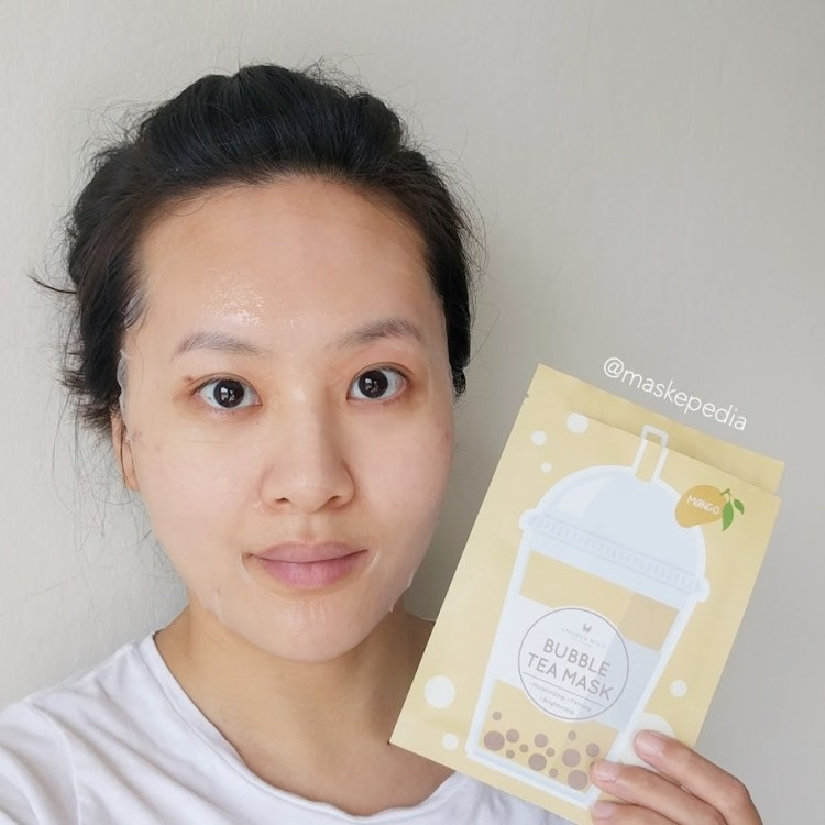 Annie's Way Mango Bubble Tea Mask