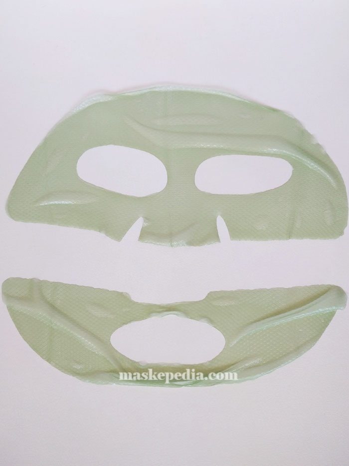 Cre8skin It's Real Color Cucumber Hydrogel Mask