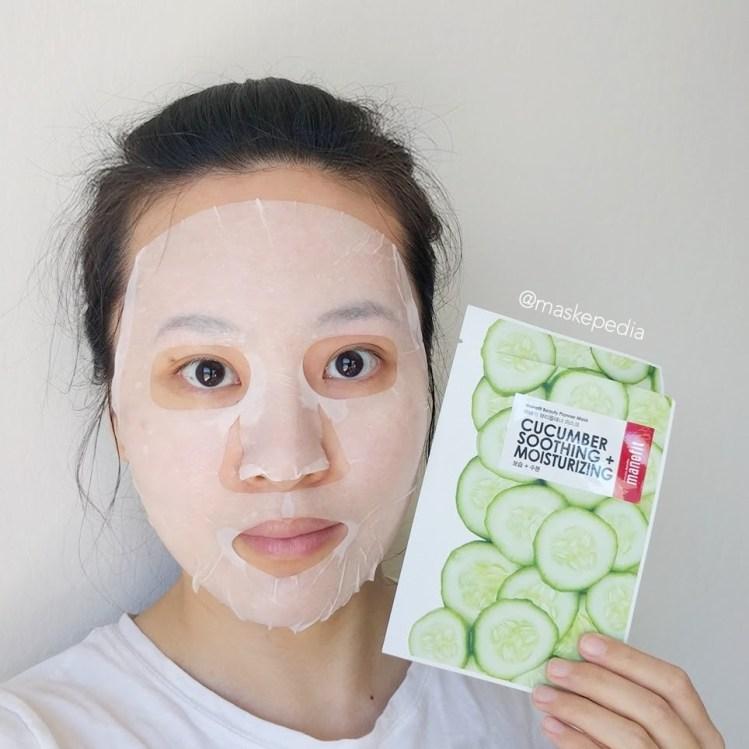 Manefit Cucumber Soothing + Moisturizing Mask