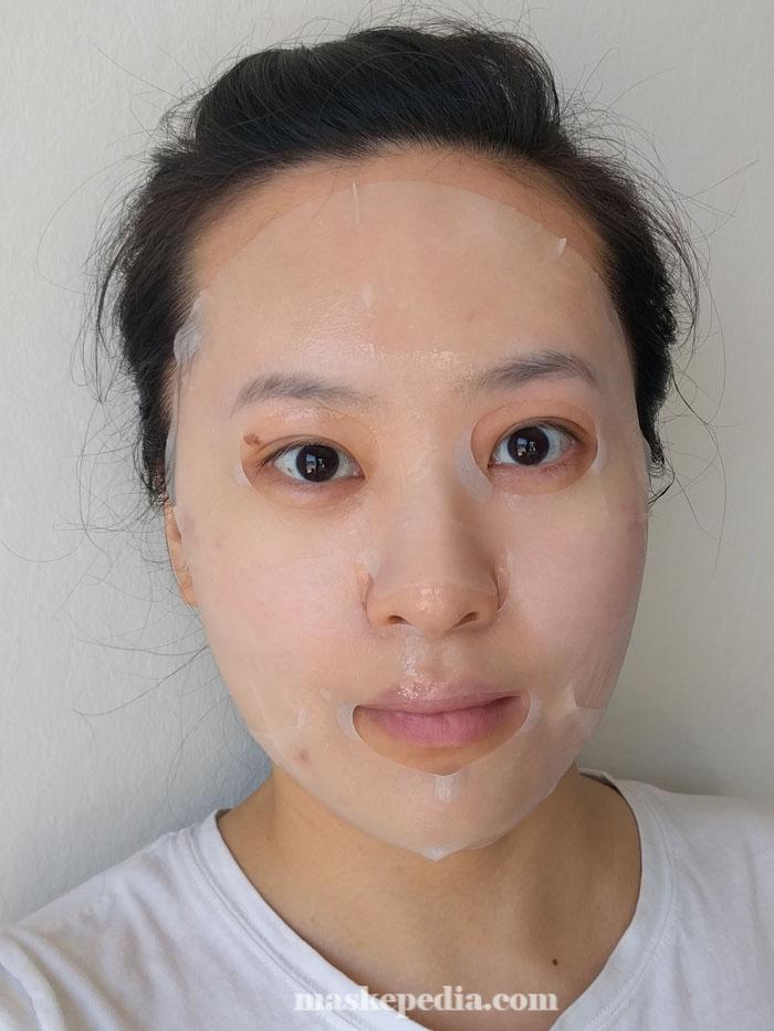 Maskingdom Taiwanese Aboriginal Bitter Melon & Pigeon Pea Facial Mask