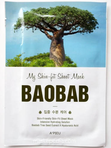 A'Pieu My Skin Fit Sheet Mask Baobab