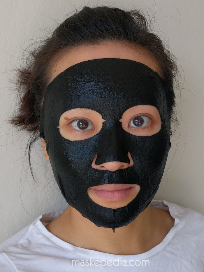 Lovemore The Premium Black Sheet Mask Deep Moist