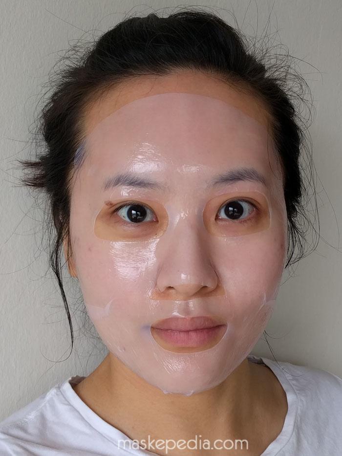 Mediheal Capsule 100 Bio Seconderm Clear Hyaluronic Acid Mask