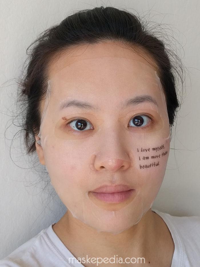 PACKage Korea I Love Myself Makeup Boosting Mask
