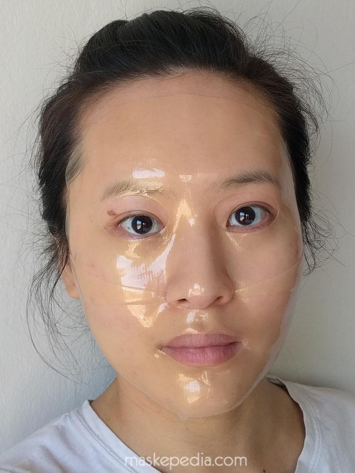 Guerisson 9 Complex Horse Oil Hydrogel Gold Mask