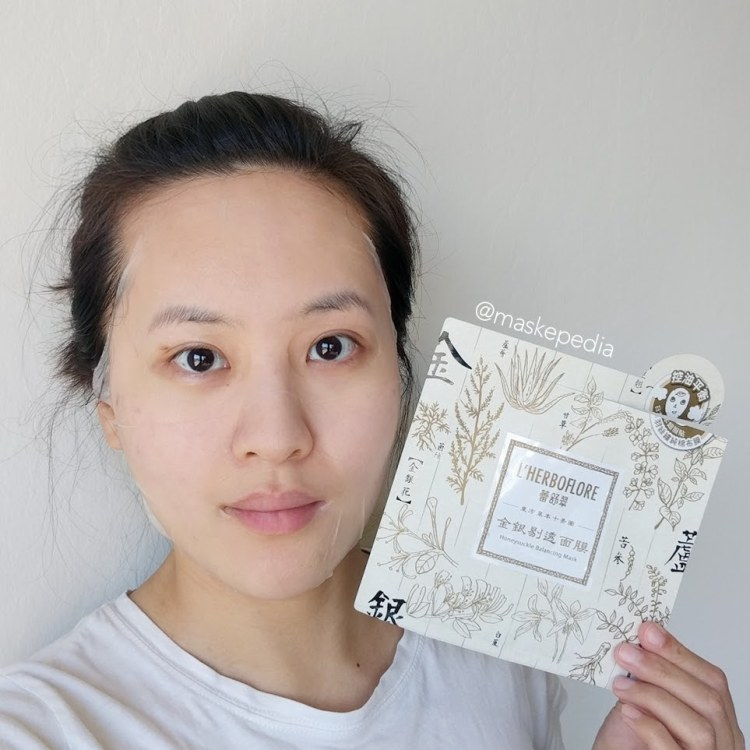 L'herboflore Honeysuckle Balancing Mask