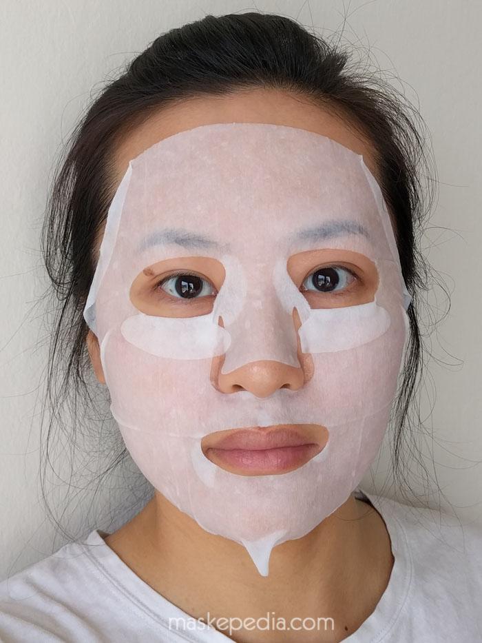 Pure Smile Green Tea Essence Facial Mask