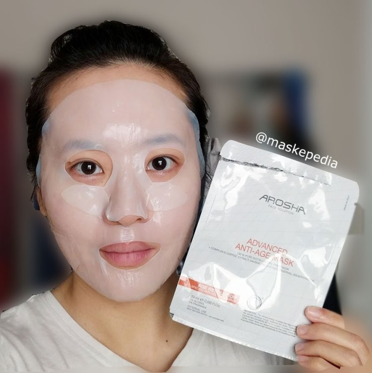 Arosha Advanced Anti-Age Mask