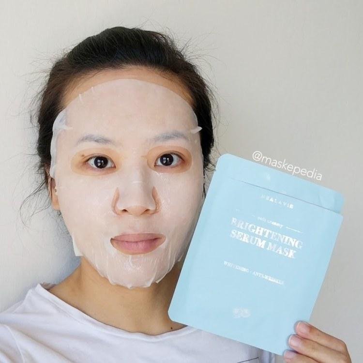 Healavie Brightening Serum Mask