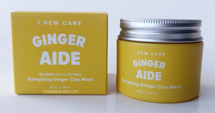 I Dew Care Ginger Aide Clay Mask