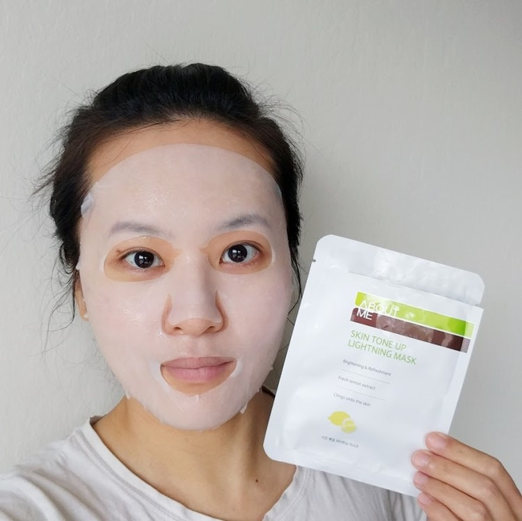 About Me Skin Tone Up Lightning Mask