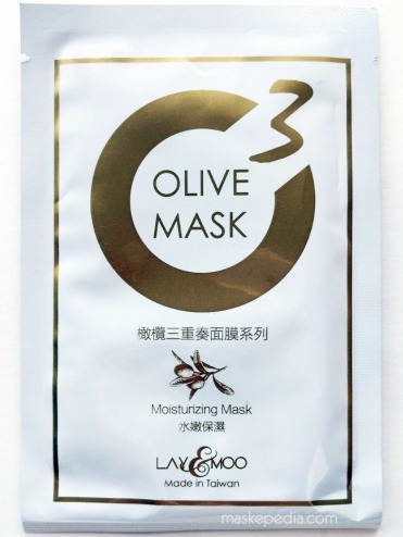 Lay & Moo Moisturizing Olive Mask